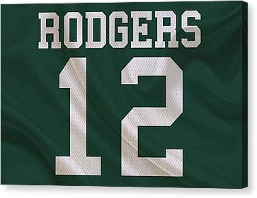 Green Bay Packers Aaron Rogers Canvas Print