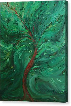 Green Bliss Canvas Print