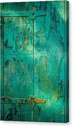 Green Door - Carmel By The Sea Canvas Print