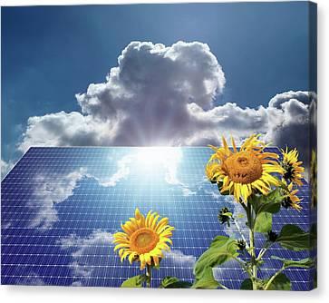 Green Energy Canvas Print