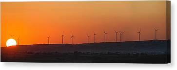 Green Energy Canvas Print by Stelios Kleanthous