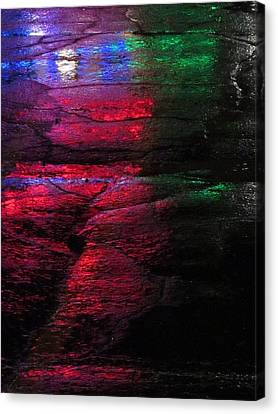 Green-eyed Monster Canvas Print by Guy Ricketts
