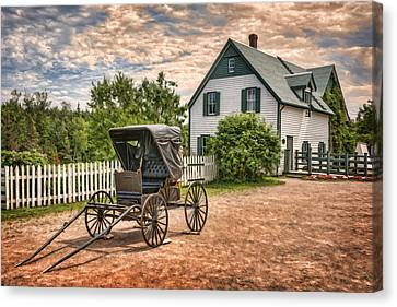 Green Gables Canvas Print by Nikolyn McDonald