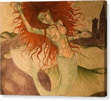 Green Moss Kingdom Canvas Print