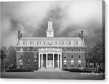 Green Mountain College Ames Hall Canvas Print by University Icons