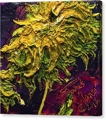 Green Mum Canvas Print by Paris Wyatt Llanso