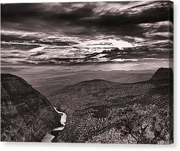 Green River Canyon Canvas Print by Joshua House