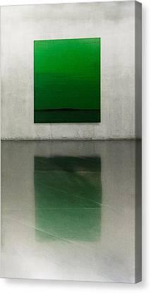 Green Canvas Print by Toni Guerra