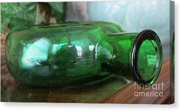 Green With Envy Canvas Print