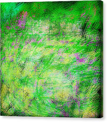 Green With Envy Series II Canvas Print by Marianne Campolongo