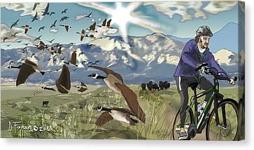 Greenbelt Plateau Boulder Co Canvas Print
