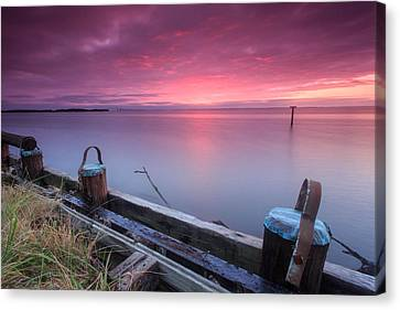 Greenbury Point Sunrise Canvas Print