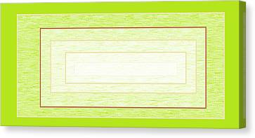 Abstract Digital Canvas Print - Greener Pastures by Chienyem Ike