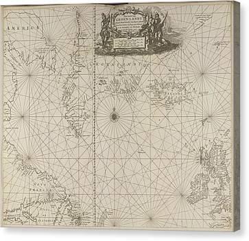 Seacoast Canvas Print - Greenland by British Library