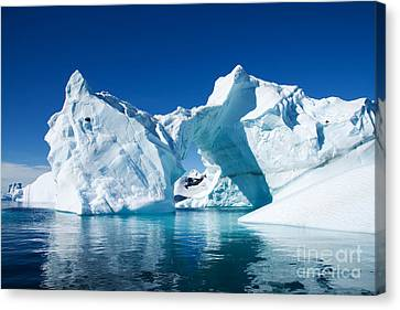 Greenland Iceberg Canvas Print by Boon Mee