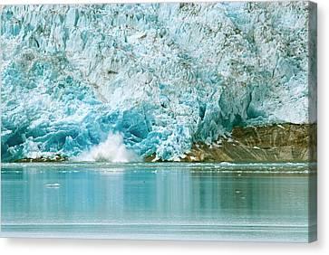 Greenland, Qaleraliq Glacier Canvas Print by David Noyes
