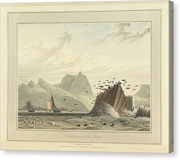 Greenstone Rock Canvas Print by British Library