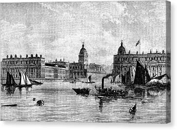 Greenwich Hospital Canvas Print by Collection Abecasis