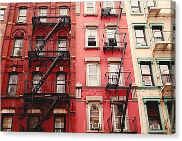 Greenwich Village  Canvas Print by Kim Fearheiley
