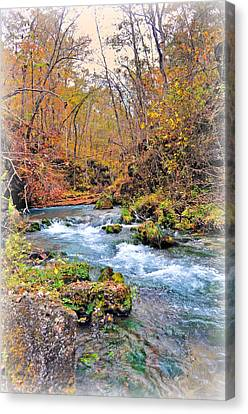 Greer Spring In Fall Canvas Print by Marty Koch