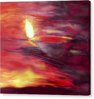 Greeting Card- 5 Canvas Print by Karunita Kapoor