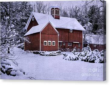Litchfield County Canvas Print - Greetings From New England by Expressive Landscapes Fine Art Photography by Thom