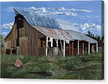 Greive's Barn Canvas Print by Timithy L Gordon
