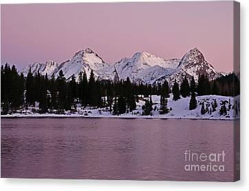 Grenadier Range Peace Canvas Print