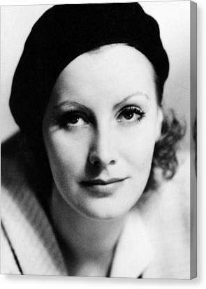 Greta Garbo In The Kiss  Canvas Print by Silver Screen