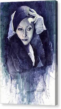 Greta Garbo Canvas Print