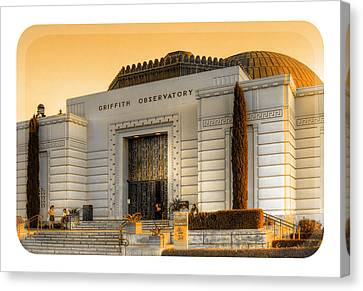 Griffith Observatory - Mike Hope Canvas Print