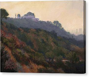 Griffith Park Observatory- Late Morning Canvas Print