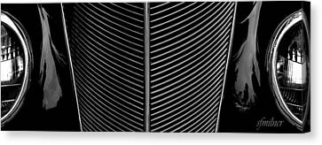 Grill Works Canvas Print by Steven Milner