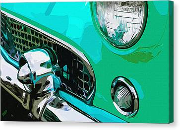 Grille Chill Canvas Print by Brian Stevens