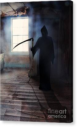Grim Reaper Canvas Print by Jill Battaglia