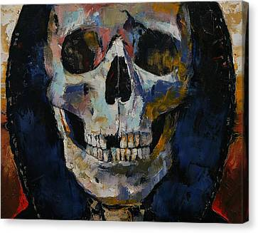 Grim Reaper Canvas Print by Michael Creese