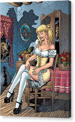 Grimm Fairy Tales 09 Canvas Print by Zenescope Entertainment
