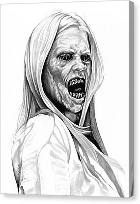 Grimm Hexenbiest Canvas Print by Fred Larucci