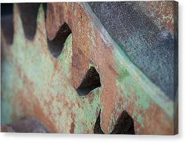 Canvas Print featuring the photograph Grind by Kevin Bergen