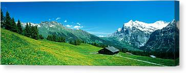 Grindelwald Switzerland Canvas Print by Panoramic Images