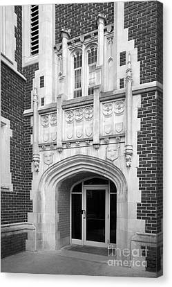 Grinnel College Collegiate Entryway Canvas Print by University Icons