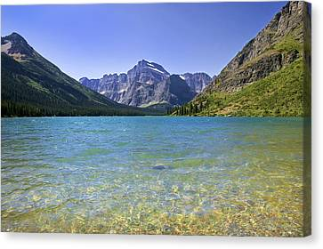 Grinnel Lake Glacier National Park Canvas Print by Rich Franco