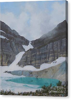 Grinnell Glacier Canvas Print