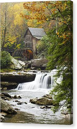 Grist Mill Canvas Print - Grist Mill No. 2 by Harry H Hicklin