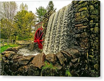 Gristmill Falls Canvas Print