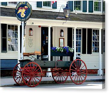 Griswold Inn And Tavern Canvas Print by Caroline Stella