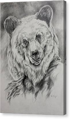 Grizzly Canvas Print by Derrick Higgins