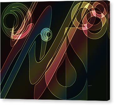 Merging Canvas Print - Groovin' by Anthony Caruso
