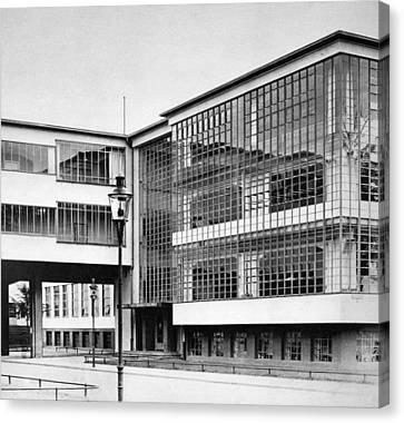 Gropius Bauhaus Canvas Print by Granger