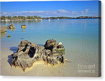 Grotto Bay Beach Canvas Print by Charline Xia